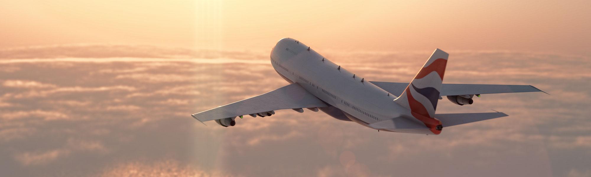 Flugzeug - Reisekombi
