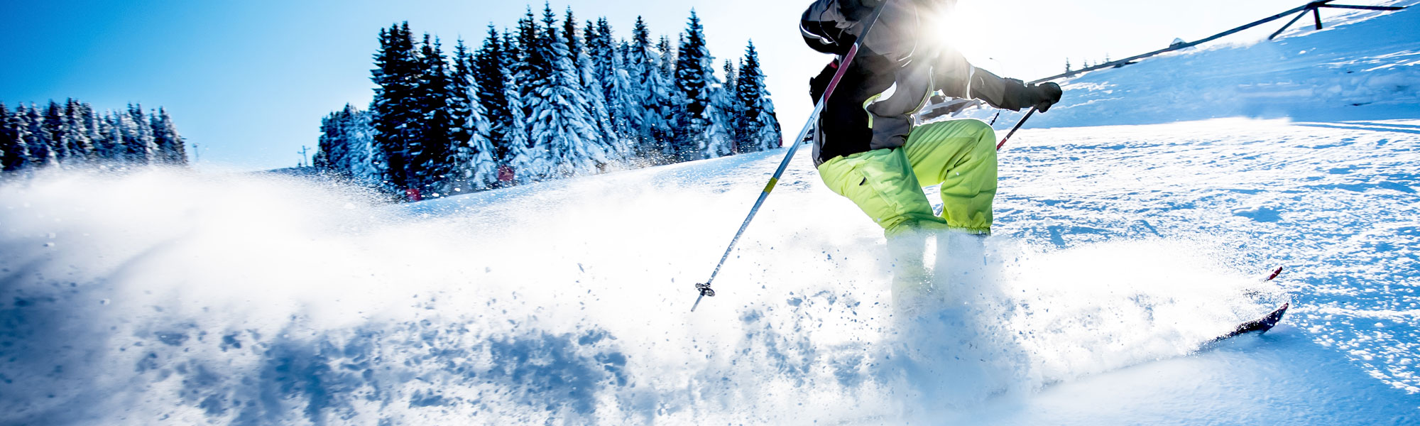 Skifahrer - Reisekombi
