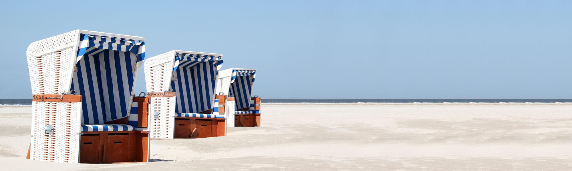 Strandkörbe - Reisekombi